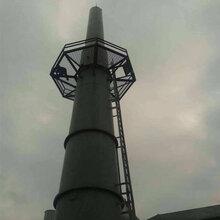 吕梁钢烟囱安装公司承接国内各类钢烟囱制作安装图片