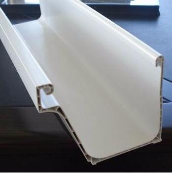 杭州彩铝水管屋檐水槽铝合金天沟PVC落水系统铝合金天沟厂家