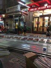 深圳南头城万力工业区广告招牌、前台字、背景墙制作