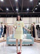 杭州一線品牌糖果夏裝女裝折扣批發走份圖片