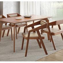 水曲柳餐桌椅北欧简约风餐桌椅实木餐桌椅实木餐桌椅图片