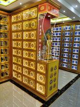 佛龛千佛万佛墙殿铝合金牌位架寺庙地宫存放架福位陵园柜子佛堂图片