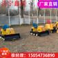 冰雪乐园设备座驾式儿童推土机公园游乐场儿童玩耍设备图片