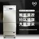 医然新款280L冷藏冷冻一体柜双机组分开控制冷藏冷冻柜