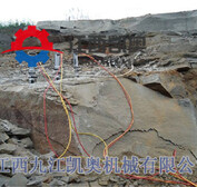 岩石劈裂机的工作原理郴州嘉禾