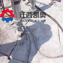坚硬岩石高压力劈裂机温州图片