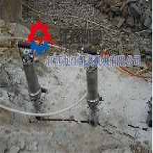 生产销售液压劈裂机铅锌矿开采视频图片