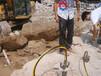 甘南優質的液壓劈裂機路基擴建