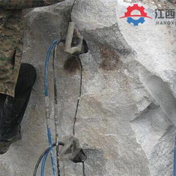 小型岩石劈裂机孔直径最深能开多深金山