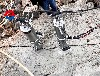 岩石劈裂机建筑石材开采莆田混凝土岩石分裂机价格