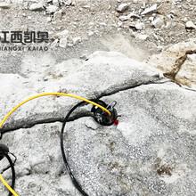 中卫液压劈裂机哪种好石料开采劈裂机图片