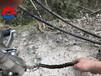 巖石爆破機哪個好嘉興液壓開山機視頻
