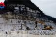 岩石裂石机竖井开挖岩石乌兰察布劈石器厂家