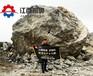 岩石裂岩机多少钱一台福建厦门开采石头劈裂机