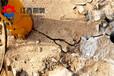 巖石裂巖機破拆成本麗水液壓劈裂棒廠家供應