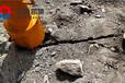 岩石劈山机井下撑开岩石福建南平岩石劈裂机孔径
