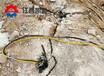岩石开裂机破拆桩头衡阳液压劈裂机钻孔直径