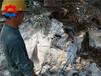 液压开裂机拆除混凝土路面乌兰察布岩石劈石机视频