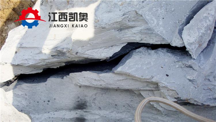 陕西汉中矿山开采岩石劈裂机