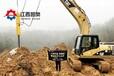 液压裂岩机建筑拆除江西新余岩石劈裂机操作视频
