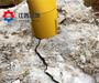 液压霹裂机破桩头用青海西宁花岗岩无声开采劈裂机