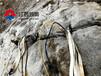 岩石裂岩机竖井开挖岩石乌兰察布岩石劈裂棒供应厂家
