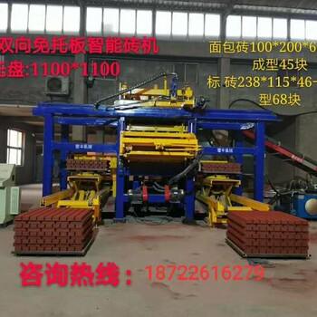 广西南宁市大型全自动水泥砖机