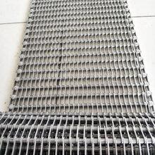 宜兴网链厂家定制不锈钢眼镜型网链耐高温链片式输送网带图片