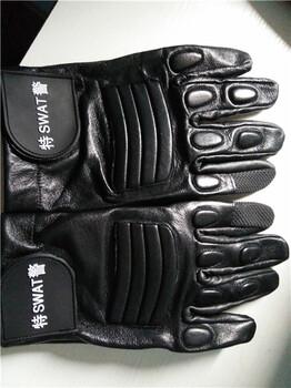 内蒙古全皮单警战术手套图片