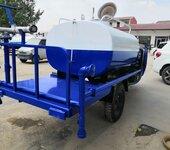 农机三轮底盘多功能消毒洒水车工地除尘小型2立方罐体农机洒水车