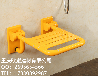 可折叠洗澡凳不锈钢挂壁椅批发老人安全洗澡淋浴凳