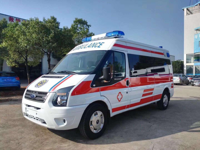 长春120救护车转运收费低
