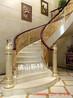 建德复式别墅铝艺楼梯扶手营造居家轻奢环境