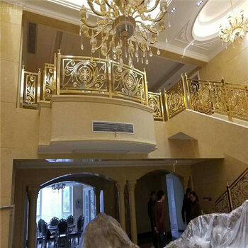 贛州銅雕花樓梯扶手一款居家裝修新體驗