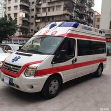 海东长途救护车出租转送专业医疗人员图片