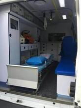 玉树长途救护车出租转送专业医疗人员图片