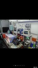 温州长途救护车出租转送配司机带医护图片
