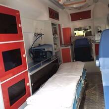 北京东城长途救护车出租转送配司机带医护图片