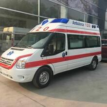 南阳长途救护车出租转送专业医疗人员图片