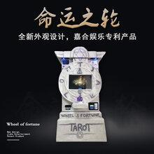 江苏南京投币打印机掌纹求签机神算机占卜机命运之轮厂家直销图片