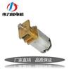 n20直流小马达3V齿轮箱减速电机6V减速直流电机滑盖指纹锁专用