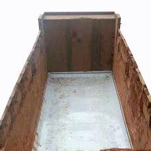 厂家定制渣土车不粘土滑板耐磨车厢滑板卸自净聚乙稀底板泥头车PE垫板图片