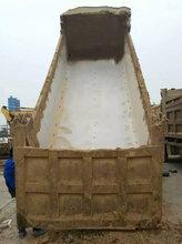 山东济南PE吸塑板卸车快铺车底滑板货车底部铺塑料板厂家直销图片