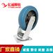 亿通脚轮8寸平板车轮重型脚轮橡胶轮减震静音轮推车轮子工厂轮子