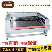 厂家直销皮革布料卷材1610自动送料裁床汽车脚垫座套数控自动送料激光切割机全场包邮图片