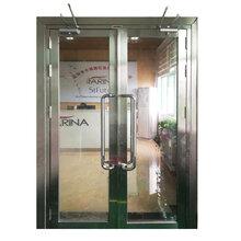 不銹鋼防火防盜玻璃門圖片