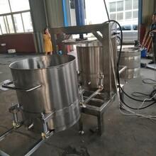 300L生姜纖維類蔬菜榨汁機,耐腐蝕液壓壓榨機金億定做果蔬榨汁機圖片