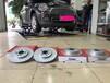 海南英能汽配寶馬MINI原裝位安裝ECFRONT打孔劃線剎車盤改裝案例