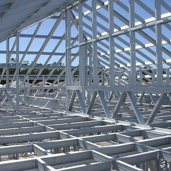 酒泉钢结构厂房施工制作