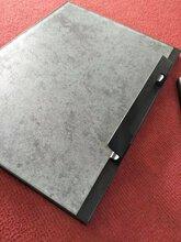 新款中空拉手亚黑边框带转角铝材现货